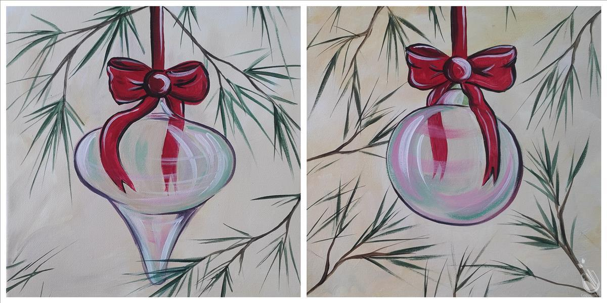 Iridescent Ornament - Set
