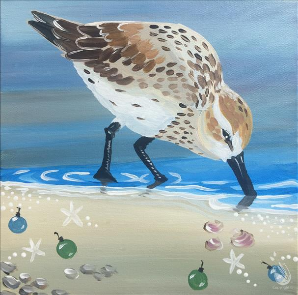 Christmas Coastal Friends - Sandpiper