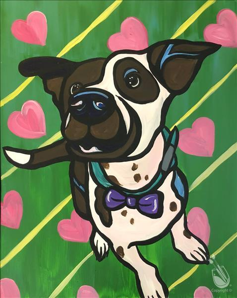 Kids's Paint Your Pet! (Custom 2-hr Event)