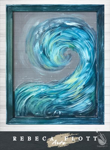 Rebeca Flott Arts - Happiness Comes in Waves