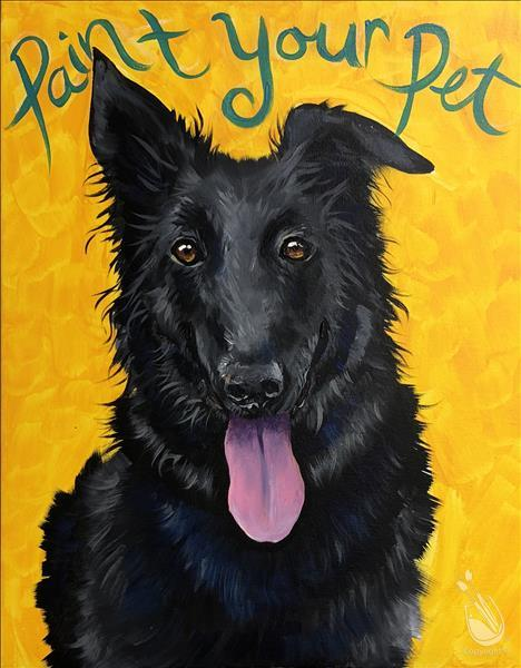 ***Paint Your Pet***INSTUDIO CLASS
