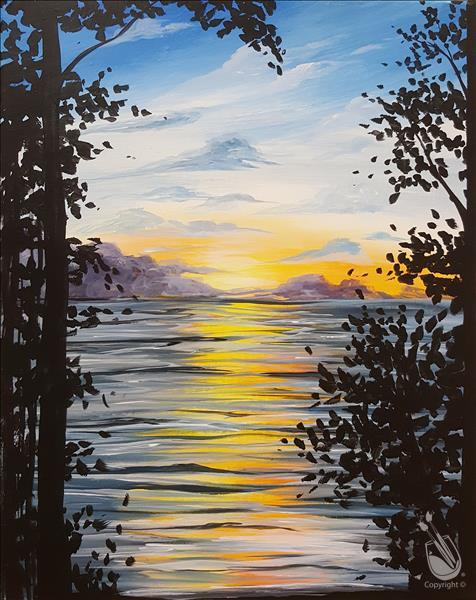 Sunrise in the Wilderness Painting Party