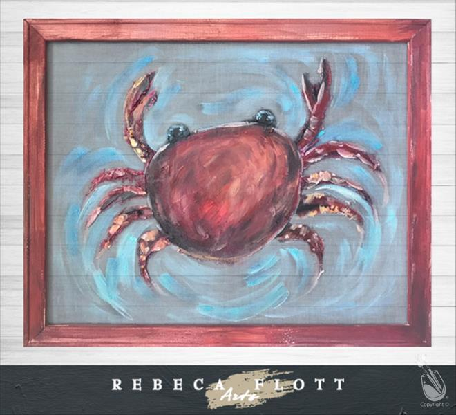 Rebeca Flott Arts - Crusty Crab