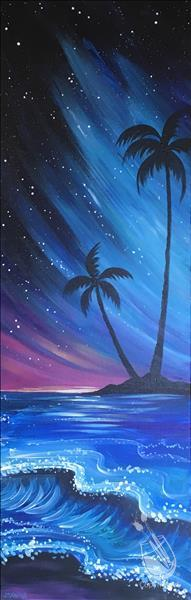 How to Paint One Night in Maui - Date Night!