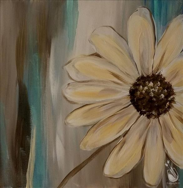 How to Paint PUBLIC: Hazy Daisies Series (12x12)