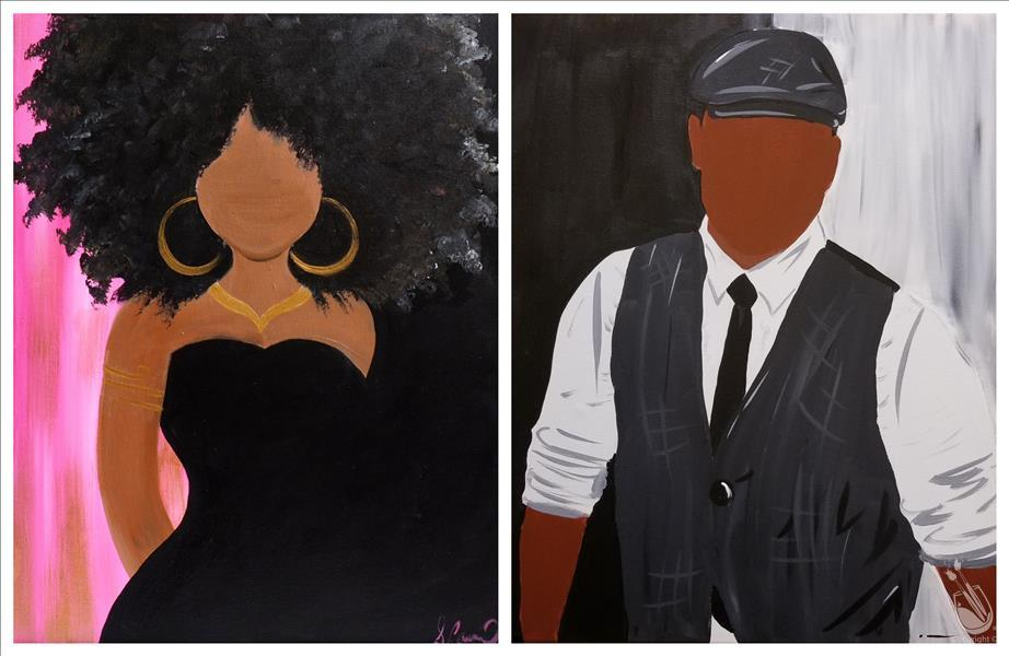 How to Paint A Flawless Couple - *PICK ONE SIDE*