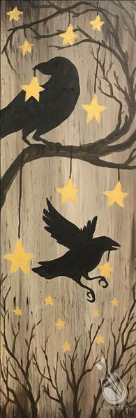 How to Paint Pick One! Rustic Nevermore