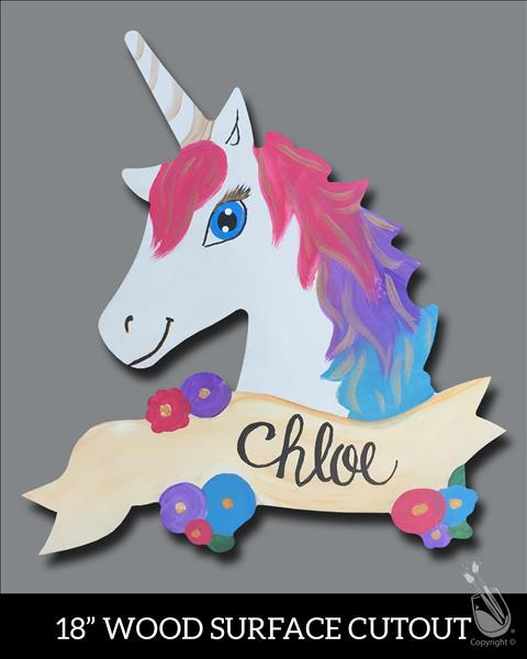 My Unicorn Cutout