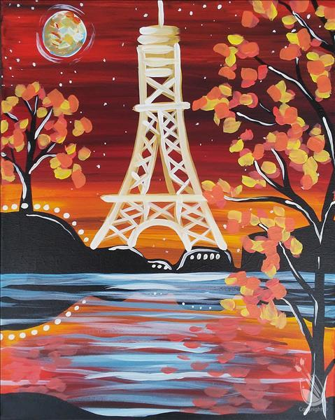Paris Under a Fall Moon **LIMITED SEATING**