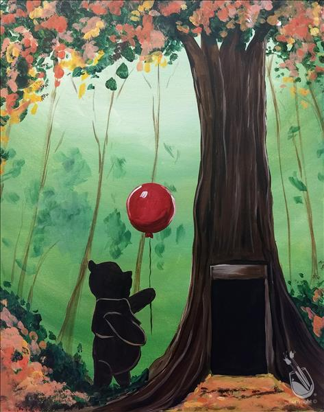 Public Christopher Robin Saturday November 10 2018 Painting