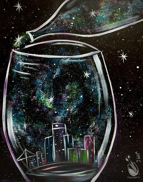 How to Paint Wine in the City (Adults 18+)