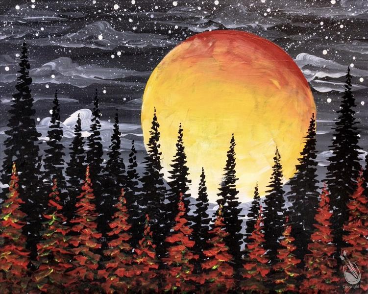 Harvest Moon Forest - Copper-IN STUDIO CLASS