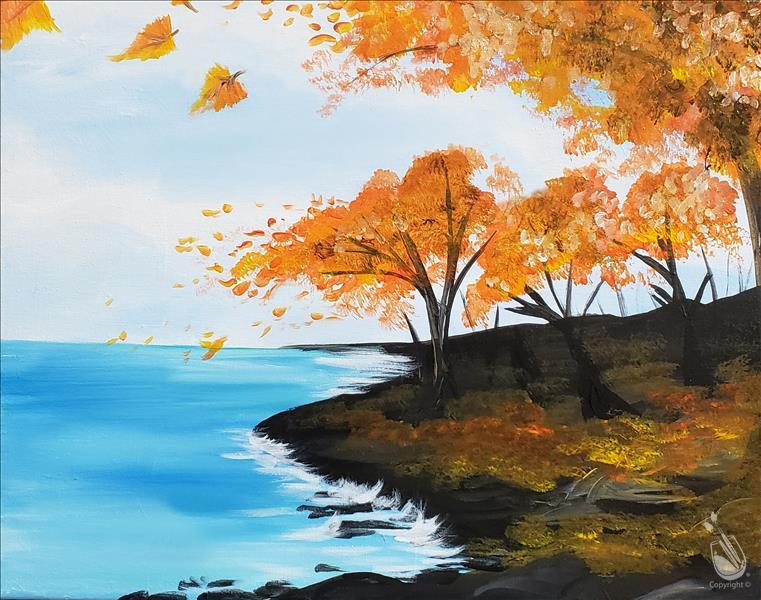 How to Paint PUBLIC: Autumn Breeze at Lake Michigan  **New**