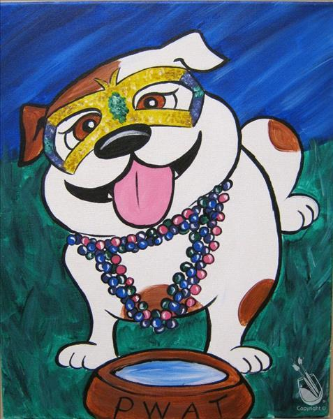 How to Paint Painting for Pups Fundraiser