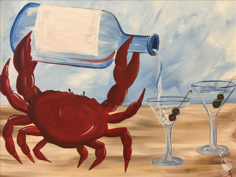 Crabs and Cocktails - Sunday Funday