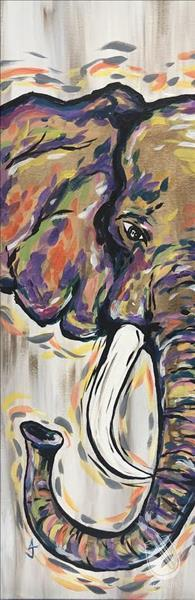 How to Paint Peekaboo Elephant (Ages 10+)
