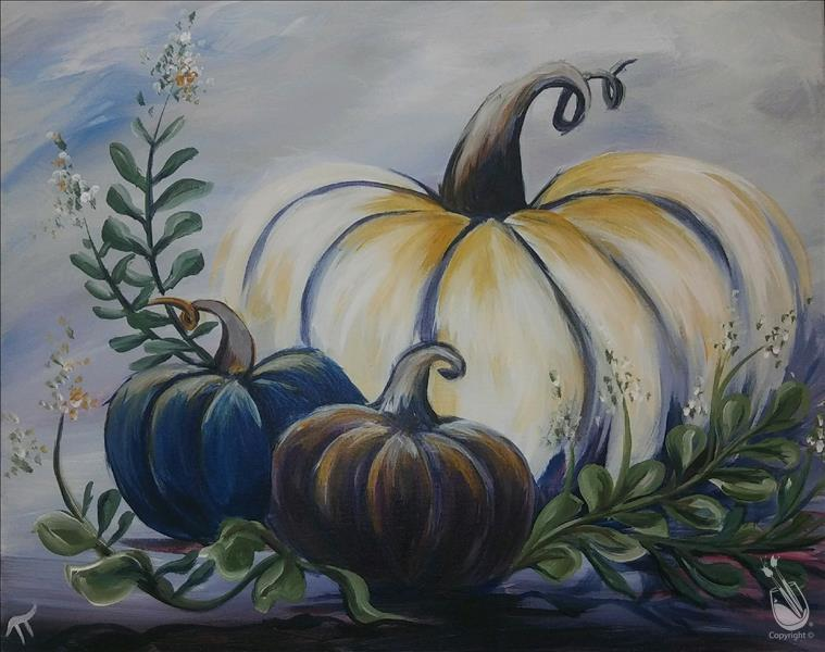 How to Paint Pumpkins and Eucalyptus II