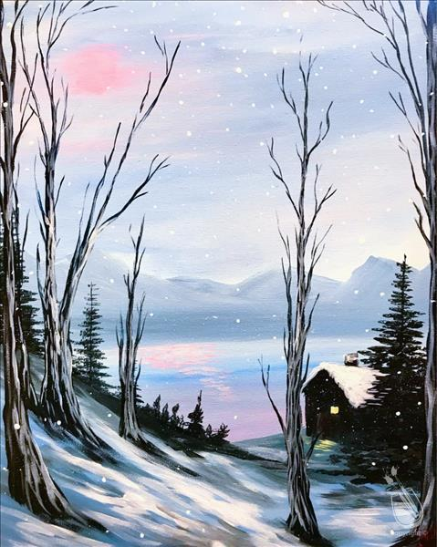 How to Paint A Soft Winter
