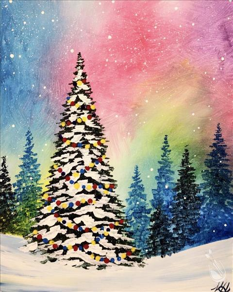 How to Paint A Bright Christmas: Teens & Adults