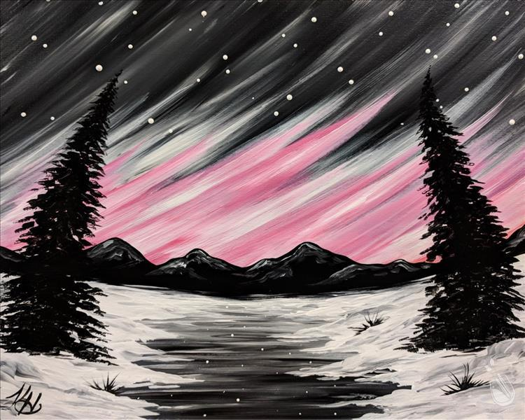 How to Paint Wicked Northern Lights (Adults 18+) CANCELED