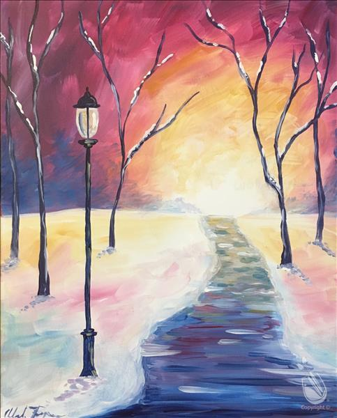 IN-STUDIO: A Winter Walkway