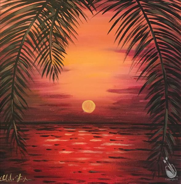 Virtual LIVE Meaningful Monday-Romantic Red Sunset