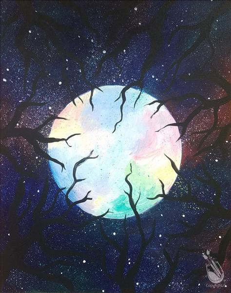 Lunar Love Painting
