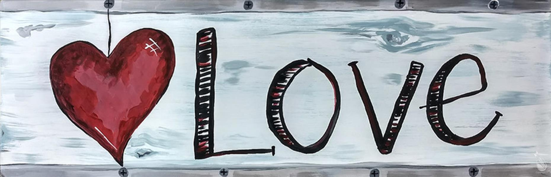 Public 10x30 Rustic Love Pallet Sunday January 20 2019