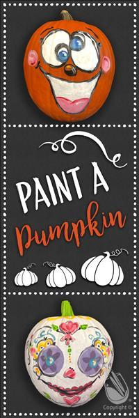 Open Studio ~ Paint Your Own Pumpkin