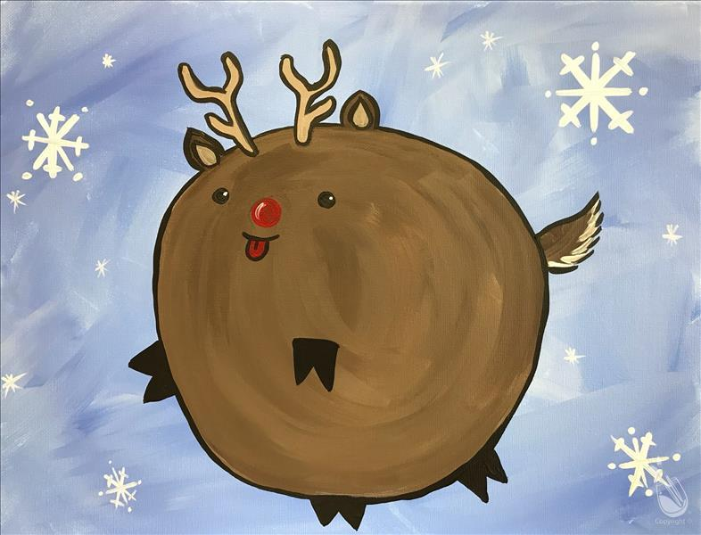 Bouncy Animal Series - Reindeer