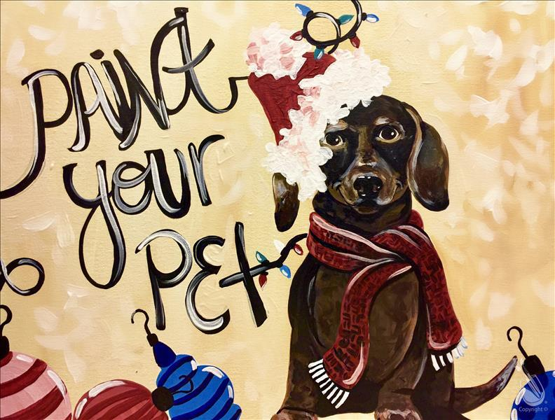 Paint Your Pet Painting Party!- Register by 12/08