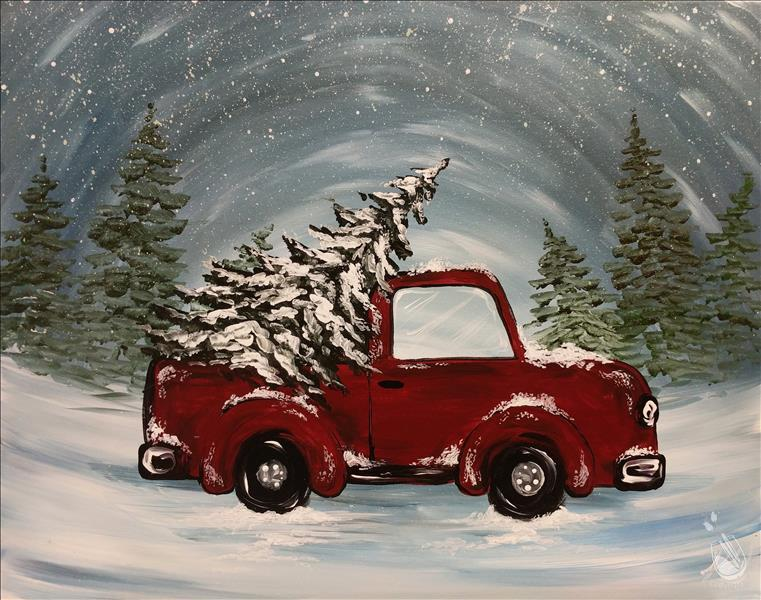 How to Paint Holiday Pick-Up