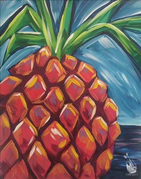 $25 TUESDAY!!! ~ Vibrant Pineapple