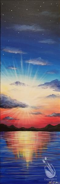 How to Paint A Bright New Day