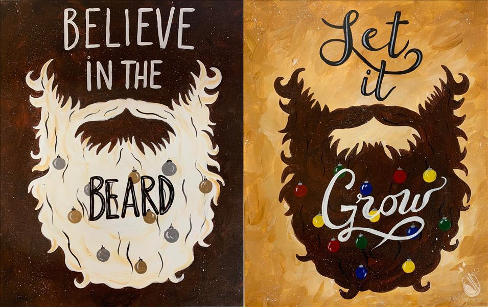 Christmas Beards - Set