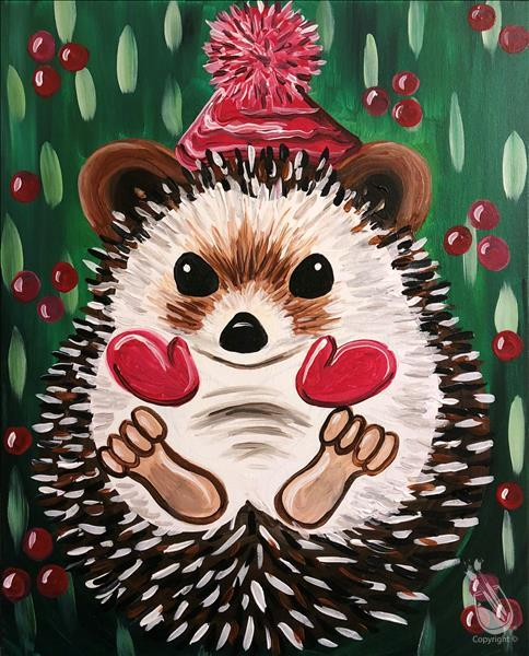 Holly Jolly Hedgehog