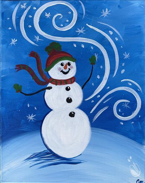 How to Paint FAMILY FUN Ages 6+  Winter Magic