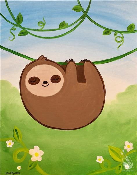 Kids Camp Day 4: Sleepy Sloth (7+)