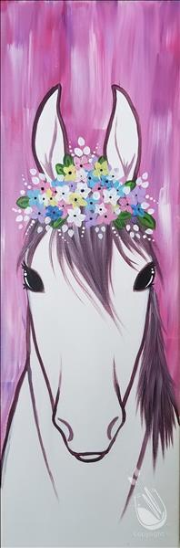 How to Paint Flower Crown Mare