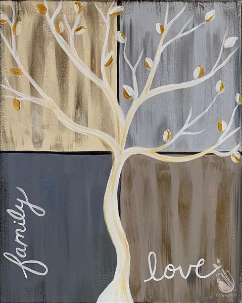 Faith Tree in Neutrals***Adults Only
