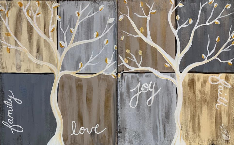 Faith Tree in Neutrals - Choose Your Side