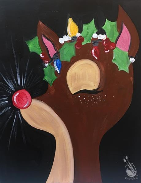 Rudolph Holly Crown In-Studio Event