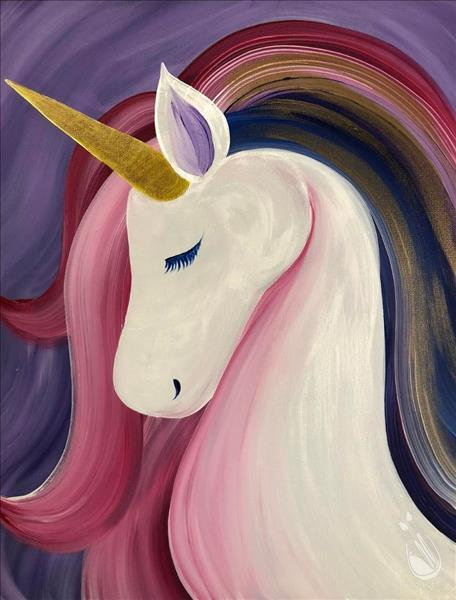 How to Paint Family Day: Pastel Unicorn - In Studio
