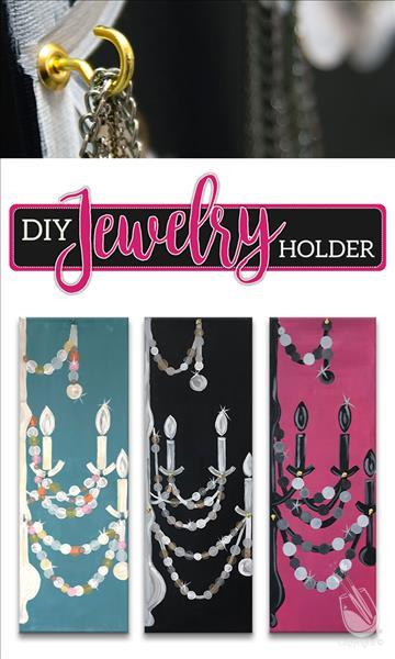 How to Paint DIY Jewelry Holder