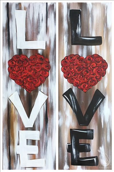 How to Paint The Sign of Love - Pick One or Do the Set!