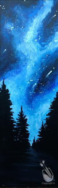 How to Paint Forest of Stars 10X30 NEW ART!
