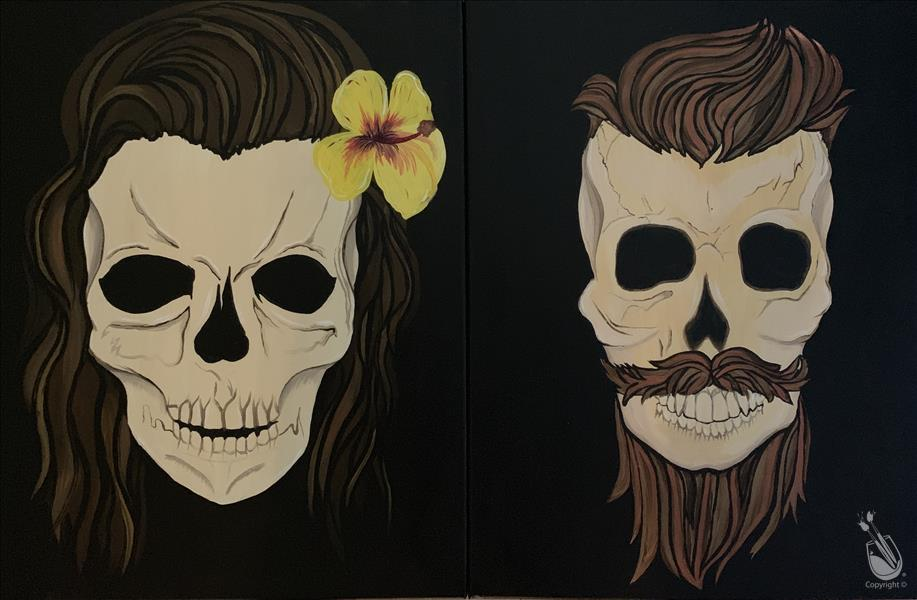 Skulls Set - Maverick and Alchamii-In Studio Class
