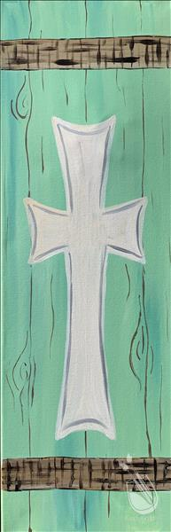 Rustic Easter - Cross