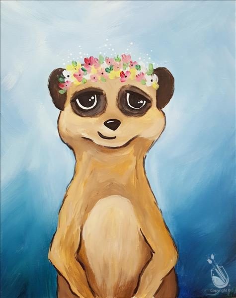 [FAMILY DAY!] Flower Crown Meerkat (All Ages!)