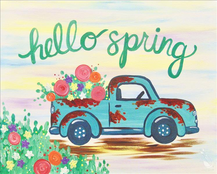 How to Paint Spring Pickup